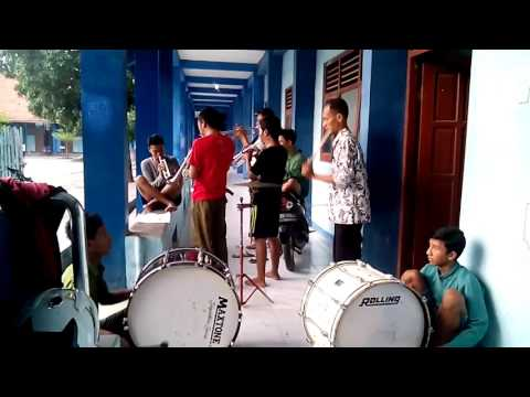Indonesia raya marching band sma muh. Gbg