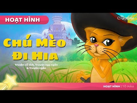 Chú Mèo Đi Hia - Chuyện kể đêm khuya | Chuyện cổ tích