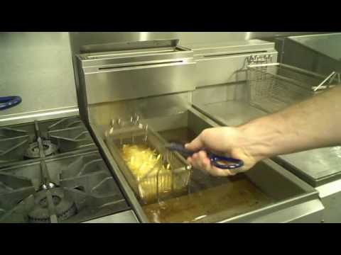 Imperial Range Gas Amp Electric Deep Fryer Demo Youtube