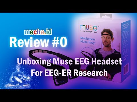 Review #0 - Unboxing Muse EEG Headset ~ For EEG-ER Research - YouTube