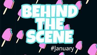 BEHIND THE SCENE Musician Januari Di balik layar Azalea Charismatic