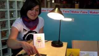 Drawing your own lightswitch. Bare Conductive (@bareconductive) at @makerfaire_uk