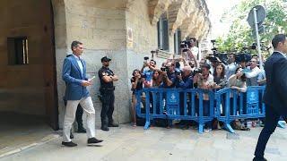 Iñaki Urdangarin ingresa en la prisión abulense de Brieva