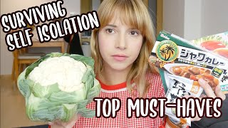 #StayHome Surviving Self Isolation - My Japanese Shopping List