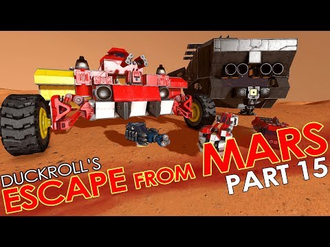 Space Engineers - ESCAPE FROM MARS #15 - So Long & Thanks for all the Parts (Coop Mission/Scenario)