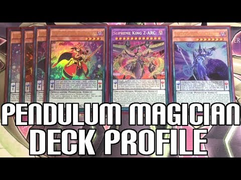 Yu-Gi-Oh! Pendulum Magician Deck Profile - Supreme King Z-ARC /Sep 2017 Banlist Update!