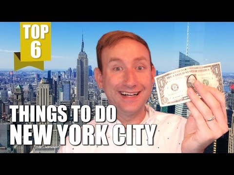 TOP 6 THINGS TO DO IN NEW YORK CITY (On a Budget)