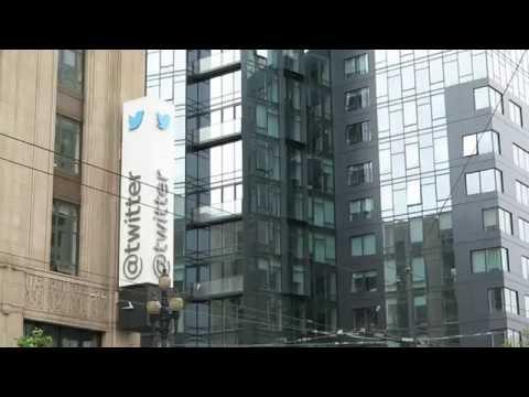 Twitter headquarters on market street San Francisco