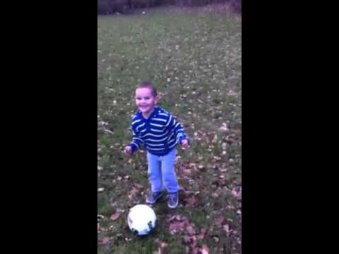 Zane's football skills