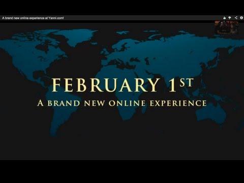 Yanni -- A brand new online experience at Yanni.com!