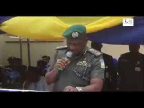 NIGERIA INSPECTOR GENERAL OF POLICE MAKE EMBARASSING BLUNDER WHILE DELIVERING SPEECH IN KANO STATE
