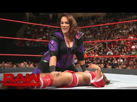 Nia Jax vs. Hyan: Raw, Aug. 29, 2016