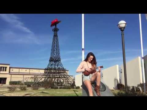 I love Paris - Taylor Ott in Paris, Texas, USA