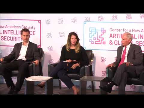 Humans + Machines Panel - Artificial Intelligence and Global Security Summit