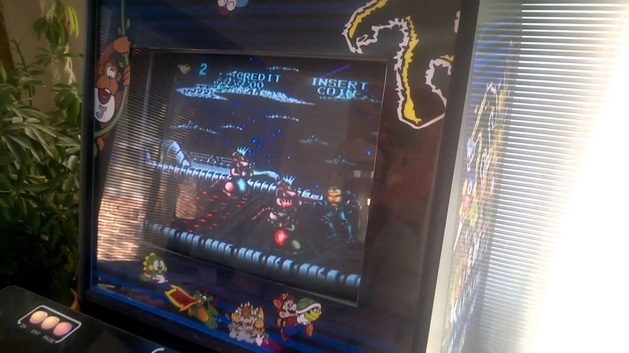 Battletoads on CUSTOM arcade cabinet - YouTube