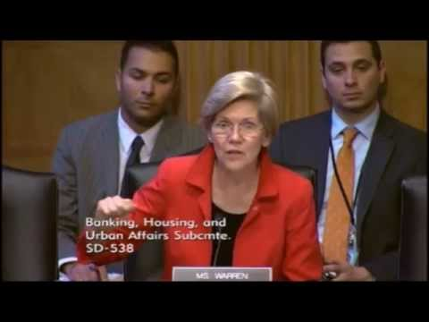 Senator Elizabeth Warren - Drivers of Job Creation
