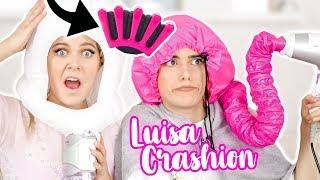 OB DAS KLAPPT⁉️ Verrückte HAAR Produkte im LIVE TEST mit Luisa Crashion | Kleinstadtcoco