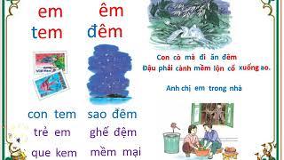 Dạy Bé Học Tập đọc Tiếng Việt Lớp 1 (Bài 62 đến bài 64)