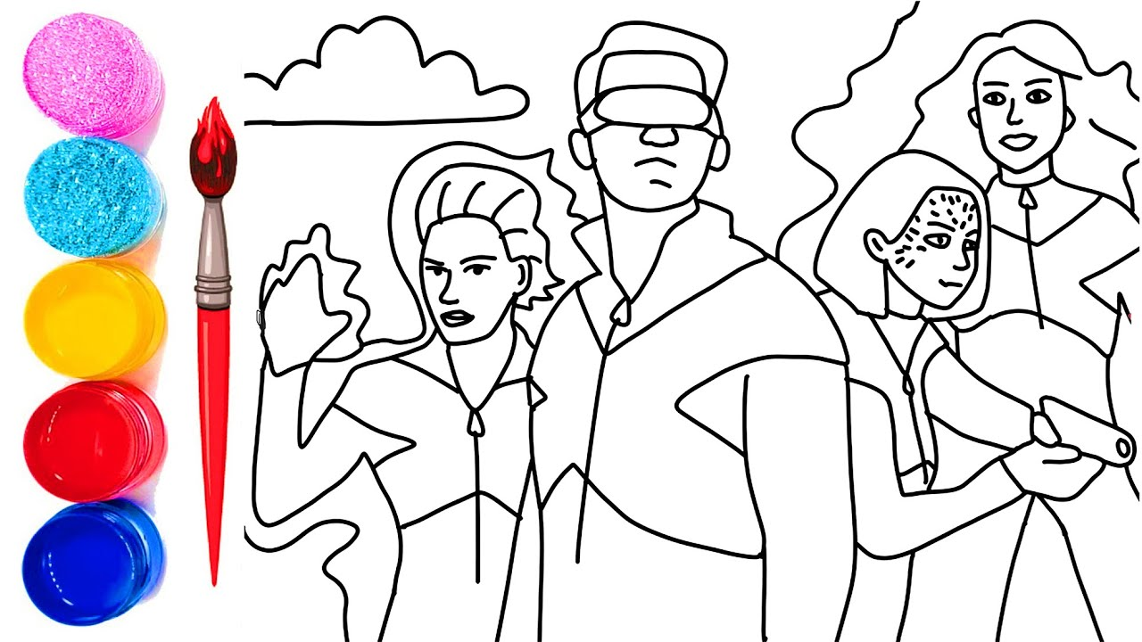 X-Men Storm Coloring Pages | Pinterest: Discover and save creative ... | 720x1280