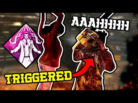 Getting Facecamped By A Triggered Streamer - Dead By Daylight