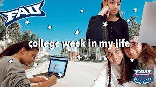 COLLEGE WEEK IN MY LIFE | Florida Atlantic University