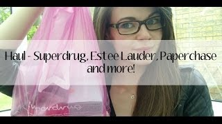 Haul - Superdrug, Estee Lauder, Paperchase + more! Thumbnail