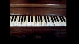 """Behave Yourself"" on a player piano"