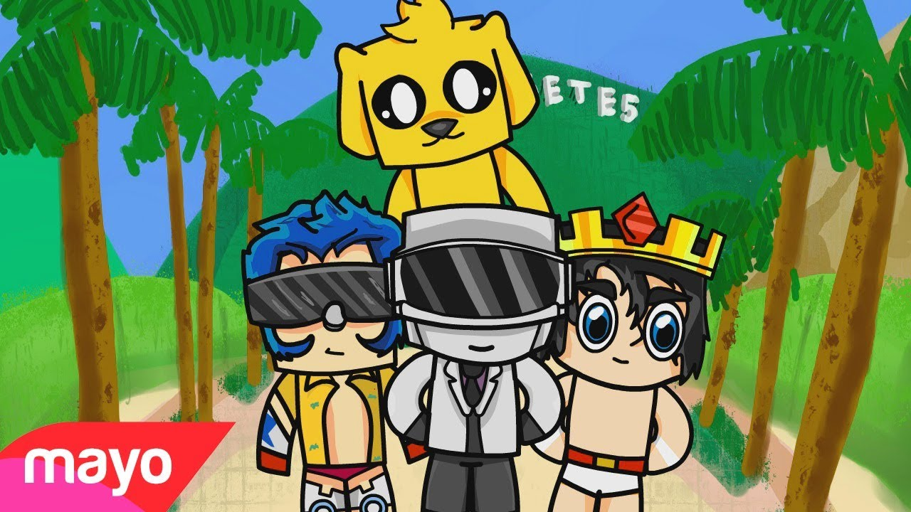 Te Ocupo Parodia Musical Minecraft Especial 1 Millon De Suscriptores Animacion Elmayo97 Youtube