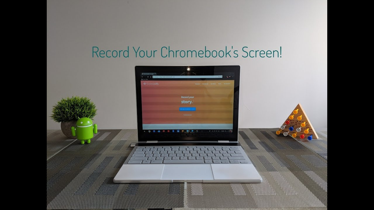 How To Screen Record On Chrome OS / Chromebook - 2018