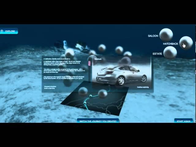 Mazda Underwater Site