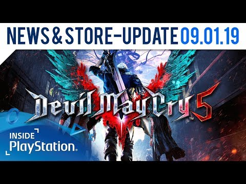 Devil May Cry 5 Demo für PS4 angekündigt | Inside PlayStation News & Store Update thumbnail
