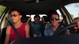 """Break Free"" - Ariana Grande Car Lip Sync"