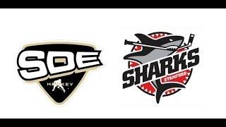 U14 Sharks SDE Tigers vs GT Sollentuna Mix 1 1 150215