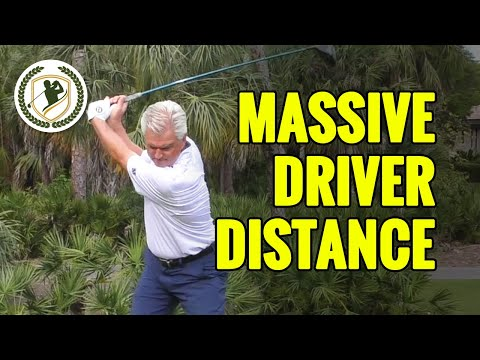 MASSIVE GOLF DRIVER DISTANCE KEYS - HOW TO BOMB YOUR DRIVES LIKE TIGER WOODS!