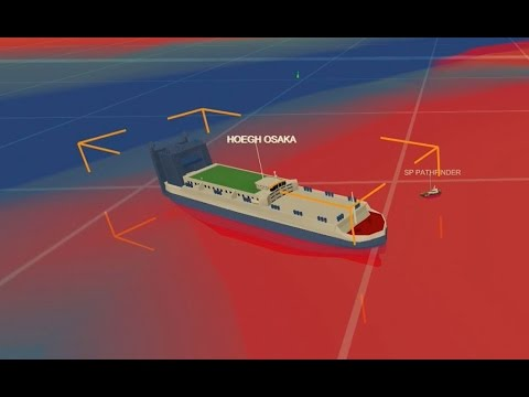Cargo ship Solent: Infographic explains how the Hoegh Osaka became stranded