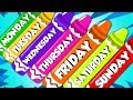 Days Of The Week Learning Videos For Kids Nursery Rhymes Song For Children mp3