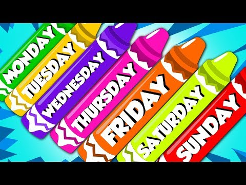 Days Of The Week | Learning Videos For Kids | Nursery Rhymes | Song For Children