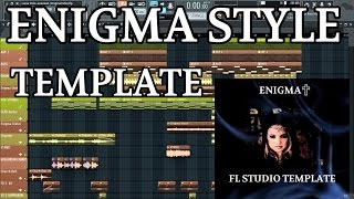 Music Production Lessons - How to make enigma style music in FL Studio 12 FREE FLP