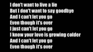 Can' let you go s01