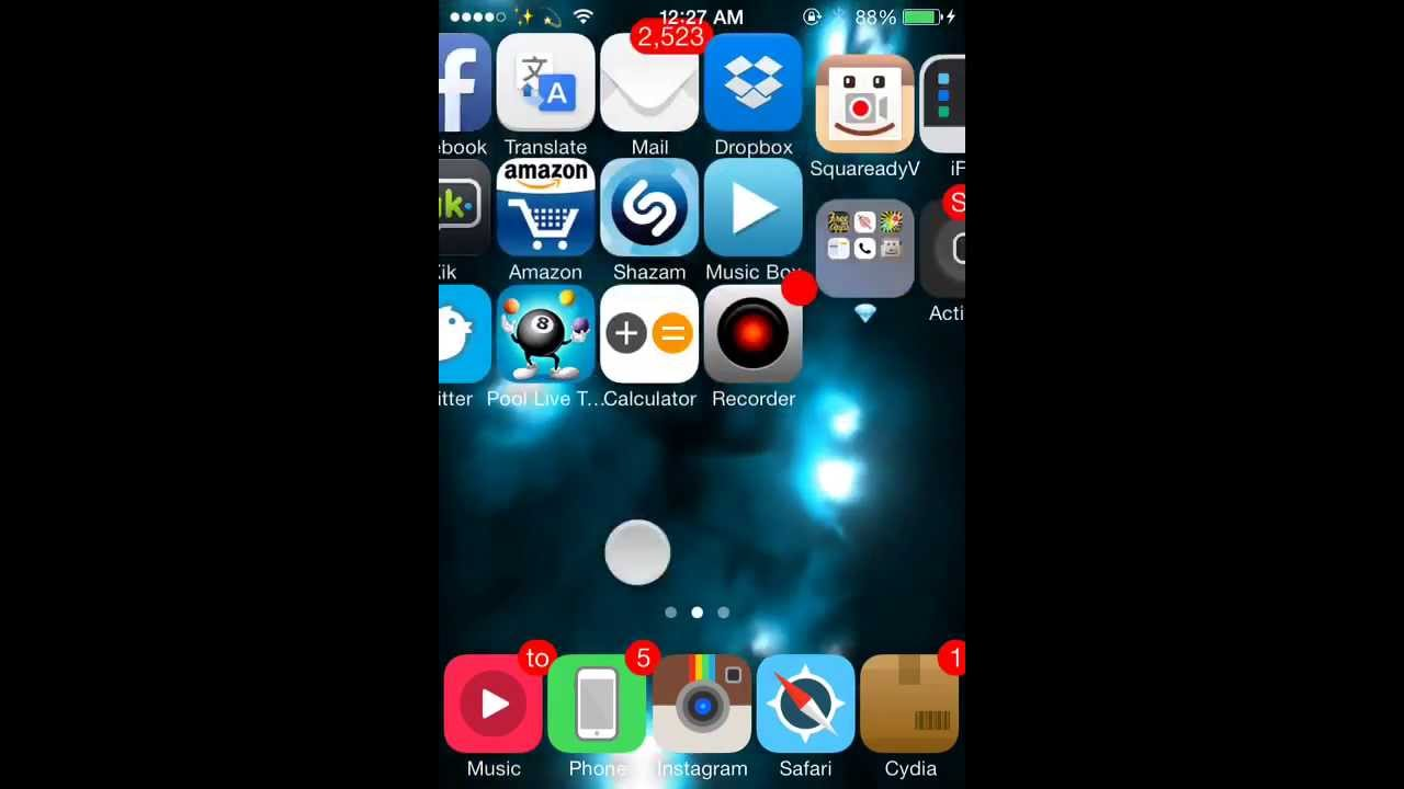 Cydia Tweaks vWallpaper 2 For IOS 7 HD - YouTube