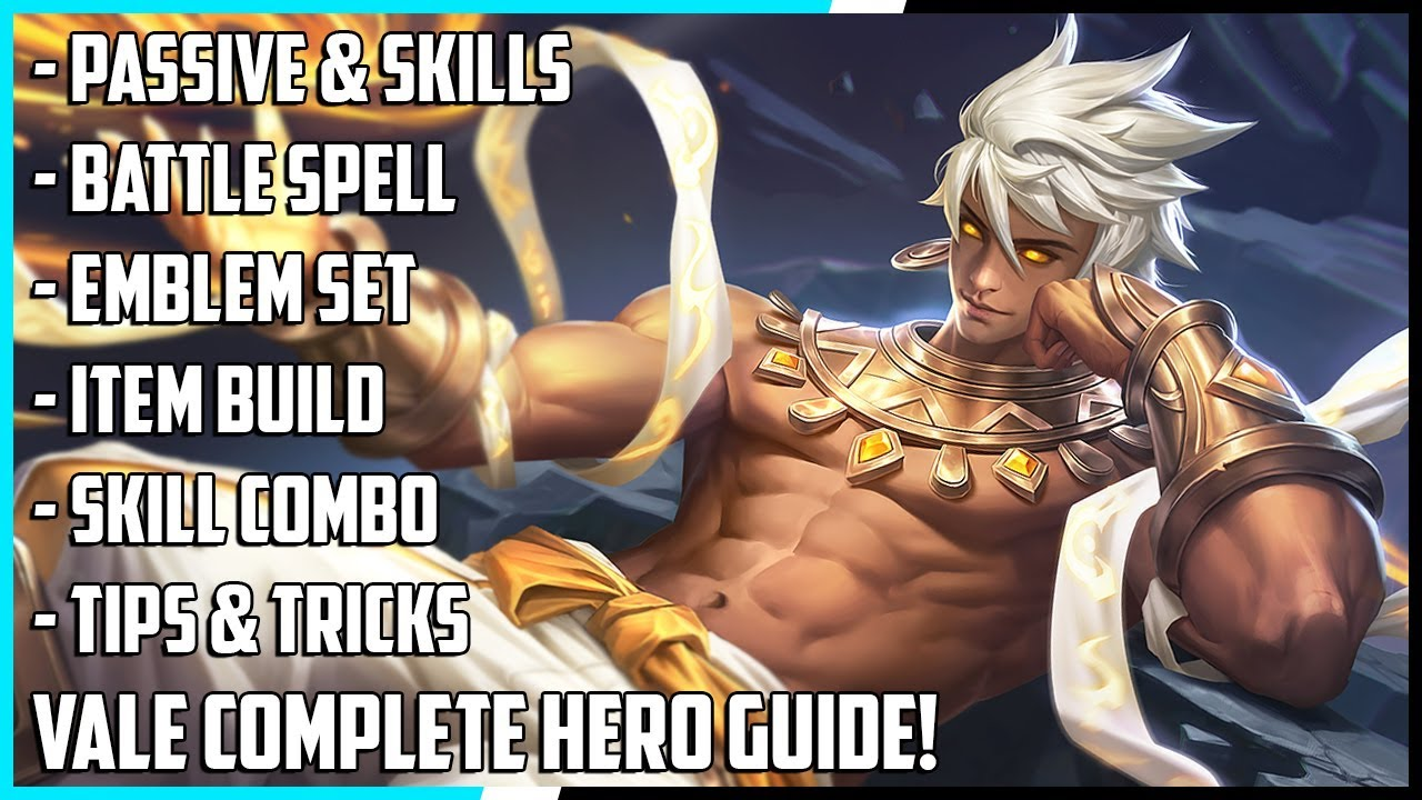 New Hero Vale Complete Guide! Best Build, Spells, Skill Combo, Tips & Tricks | Mobile Legends
