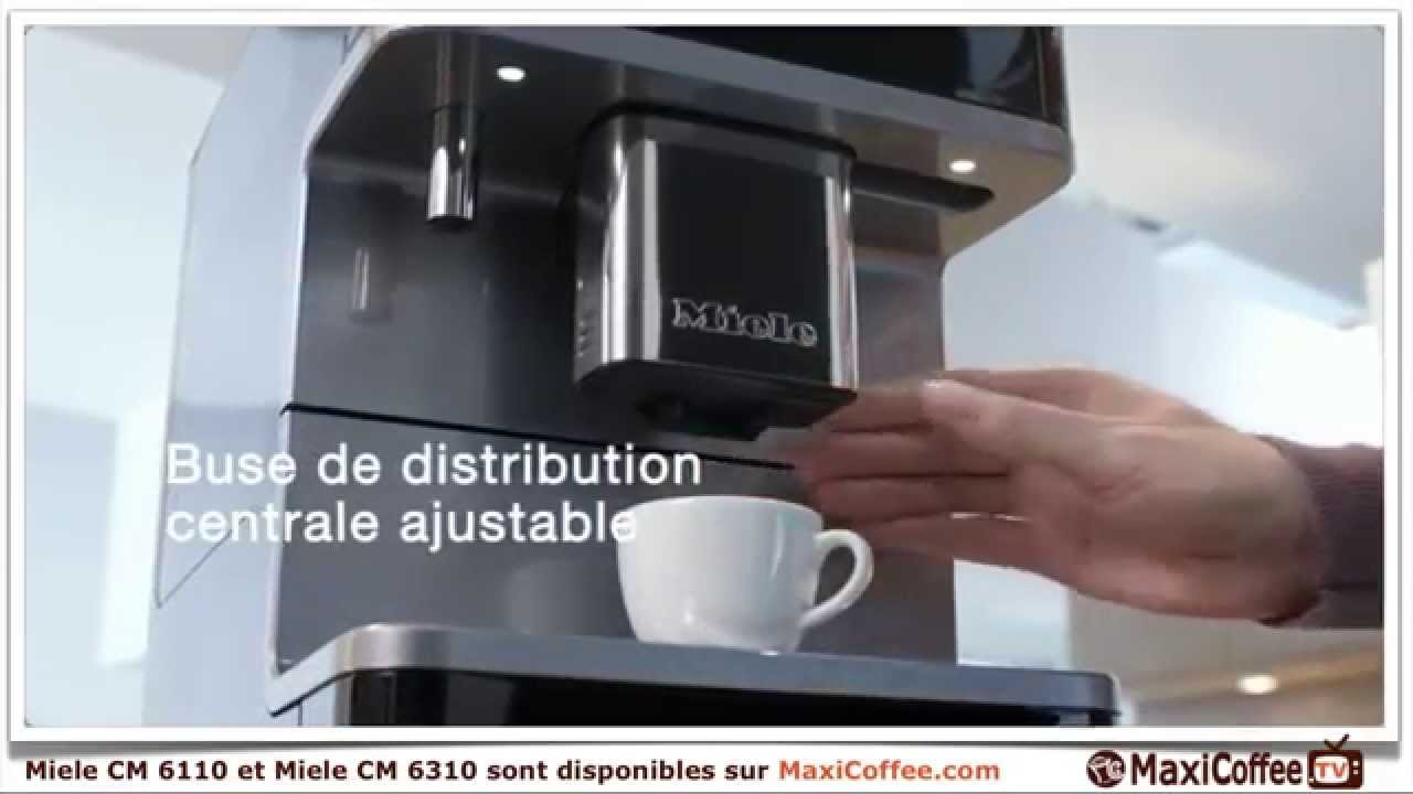 les machines caf miele sont sur maxicoffee youtube. Black Bedroom Furniture Sets. Home Design Ideas
