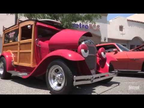 Newhall's hottest coolest car show