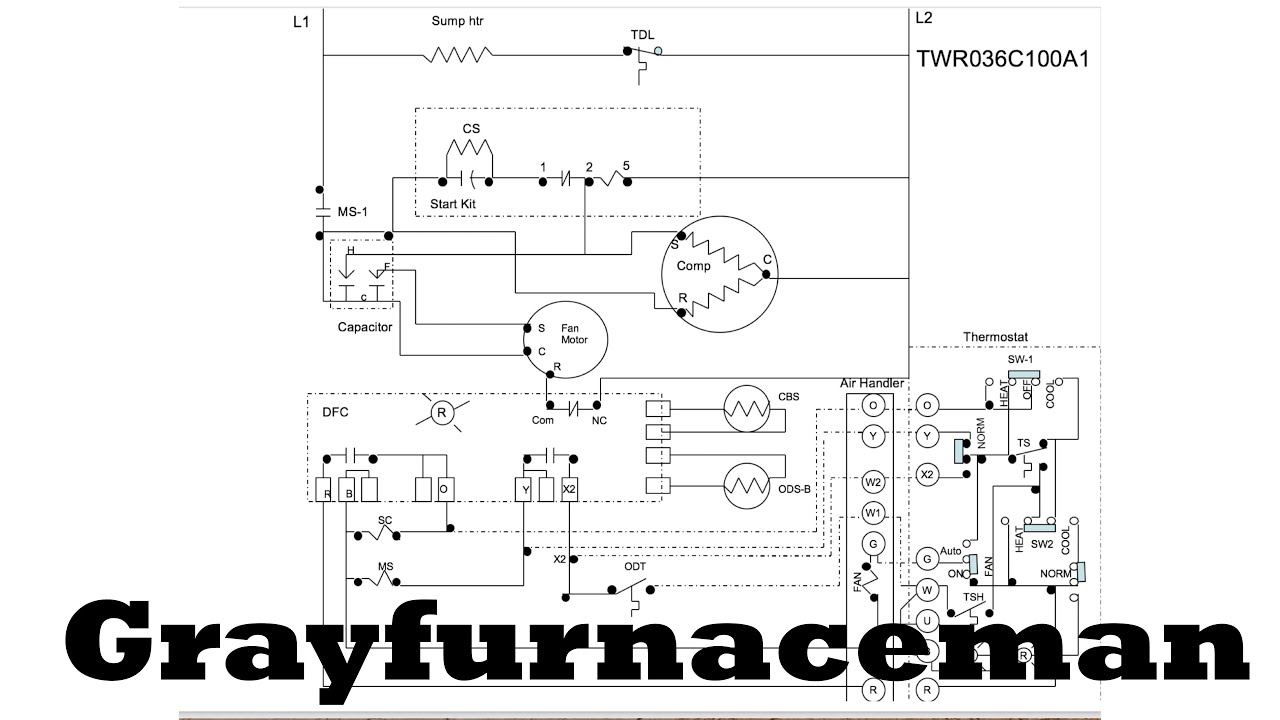 Heat Pump Diagram 2 Call For Youtube Air Handler
