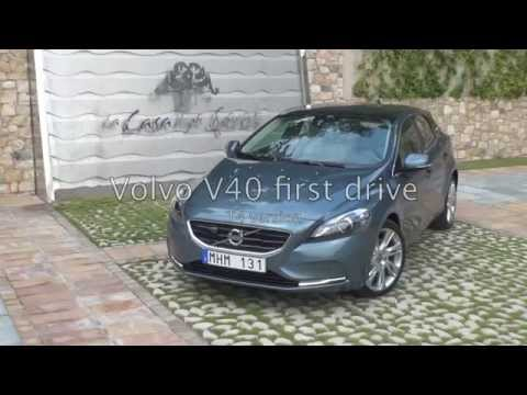 The New Volvo V40 T4, first drive