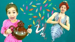 Джин исполняет желания Алисы или история про вредные сладости