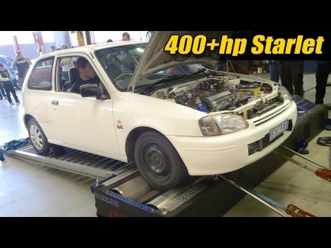 400hp Starlet sleeper!