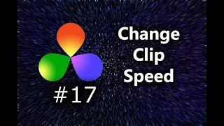 How To Change Clip Speed In DaVinci Resolve