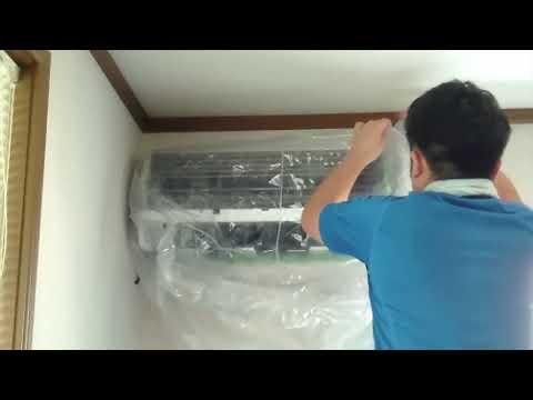 エアコンクリーニング Air conditioner cleaning