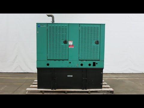 Cummins 60 KW Diesel Generator, 4BT3.9-G4 Engine, Multi Voltage -  CSDG # 2094